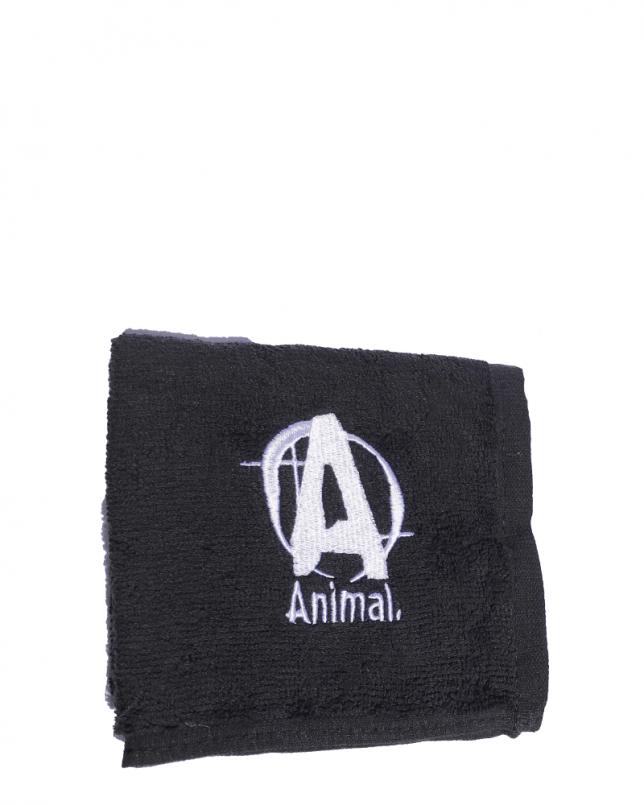 animal towel black