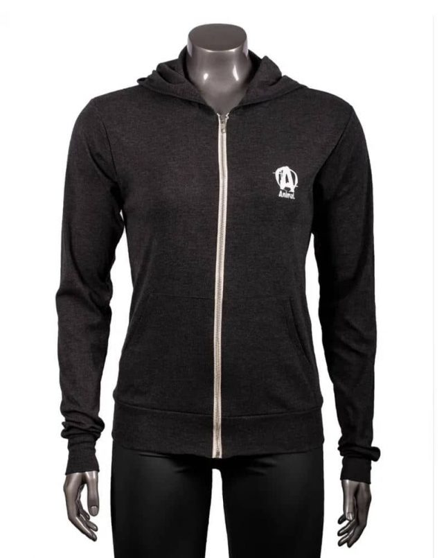 Universal Nutrition Animal Bring the Pain Charcoal LTWT Hoodie